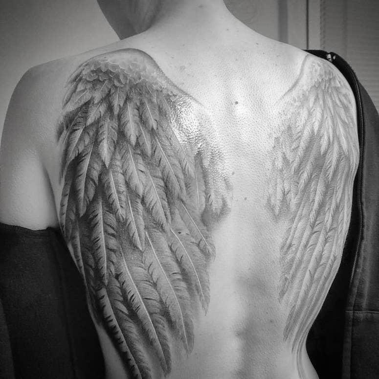 Tatuagem De Anjo Feminina 80 Ideias Para Marcar A Pele Com