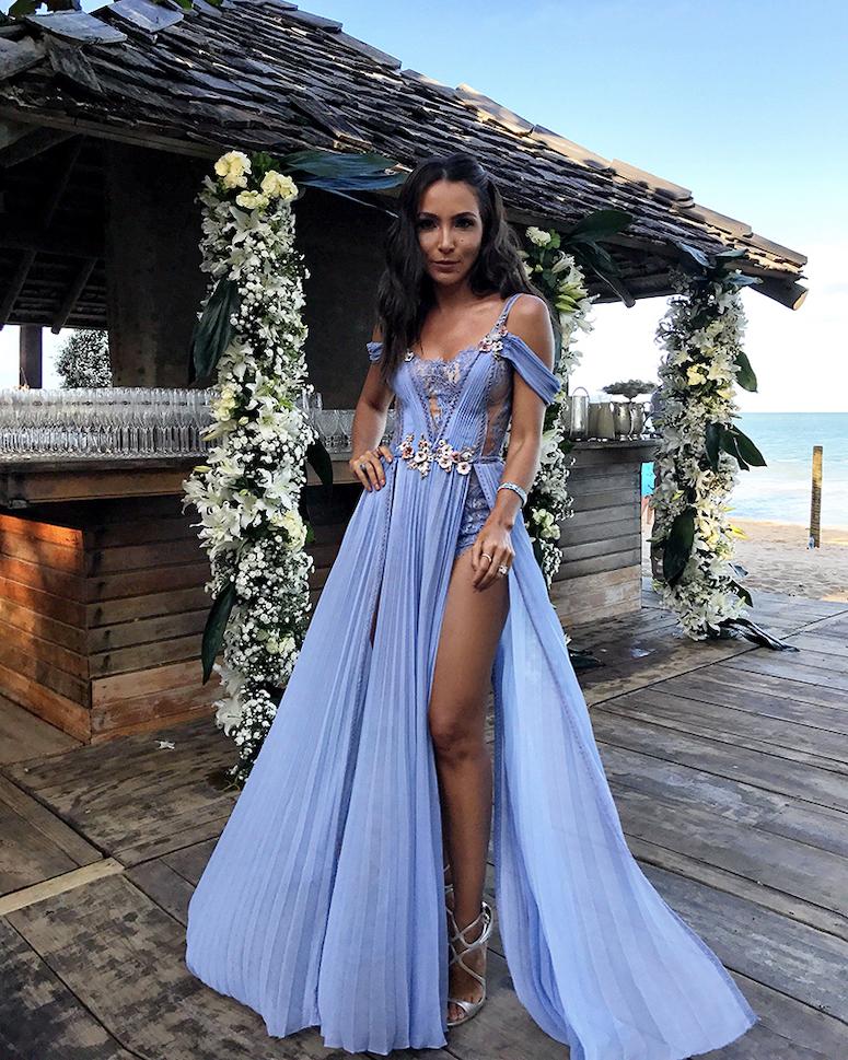 f6aed37c5fe8 Vestido para casamento na praia: 100 ideias para escolher o look ...