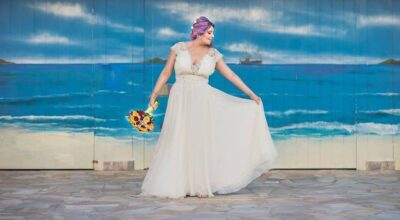 Vestido para casamento na praia: saiba como escolher o look perfeito