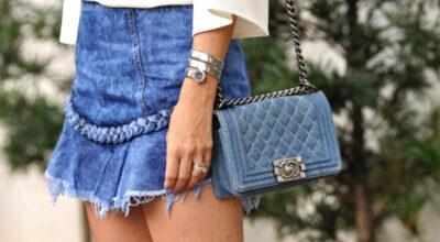 Bolsa jeans: 45 ideias e como fazer essa peça que nunca sai de moda