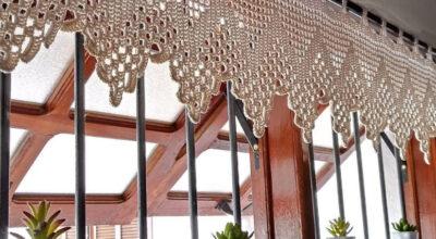 Cortina de crochê: 50 ideias para decorar cada cômodo da sua casa