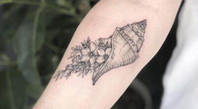 Tatuagem de conchas: 60 desenhos e seus reais significados