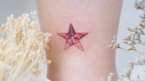 80 tatuagens de estrela que ganharão o seu coração