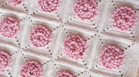 Tapete de crochê com flores: fotos, gráficos e tutoriais para você fazer o seu