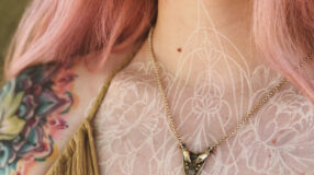 Tatuagem branca: 65 ideias e dicas para cuidar dessa tattoo especial