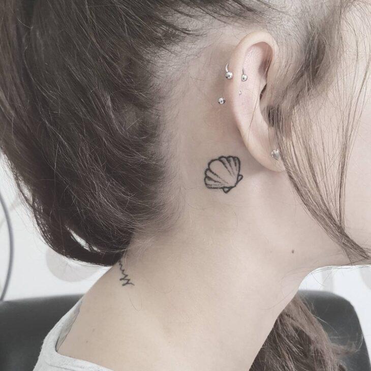 Tatuagem Atrás Da Orelha 70 Ideias Diferentes Para Você Se