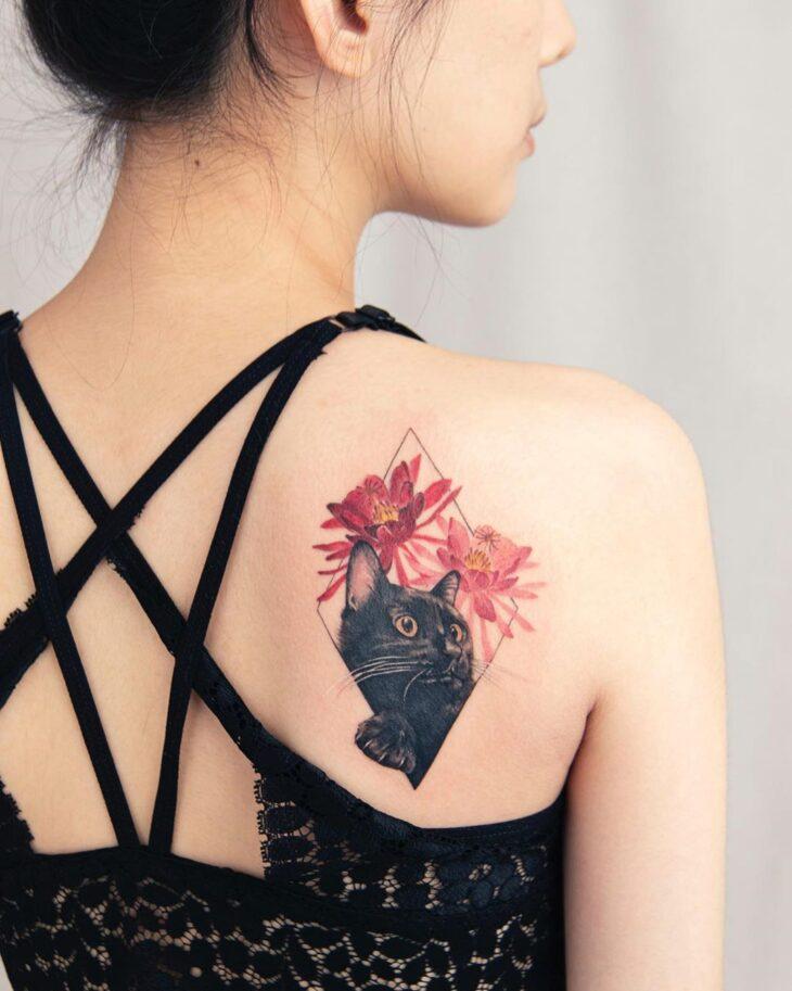 Tatuagem De Gato 85 Ideias Para Se Apaixonar E Se Inspirar