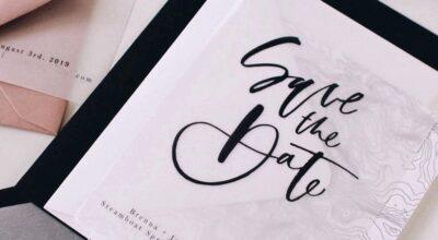 Save the date: saiba tudo sobre o pré-convite do momento