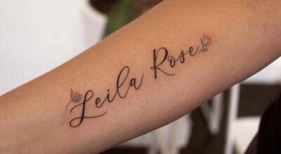 Tatuagem com nome: 110 modelos para homenagear alguém especial