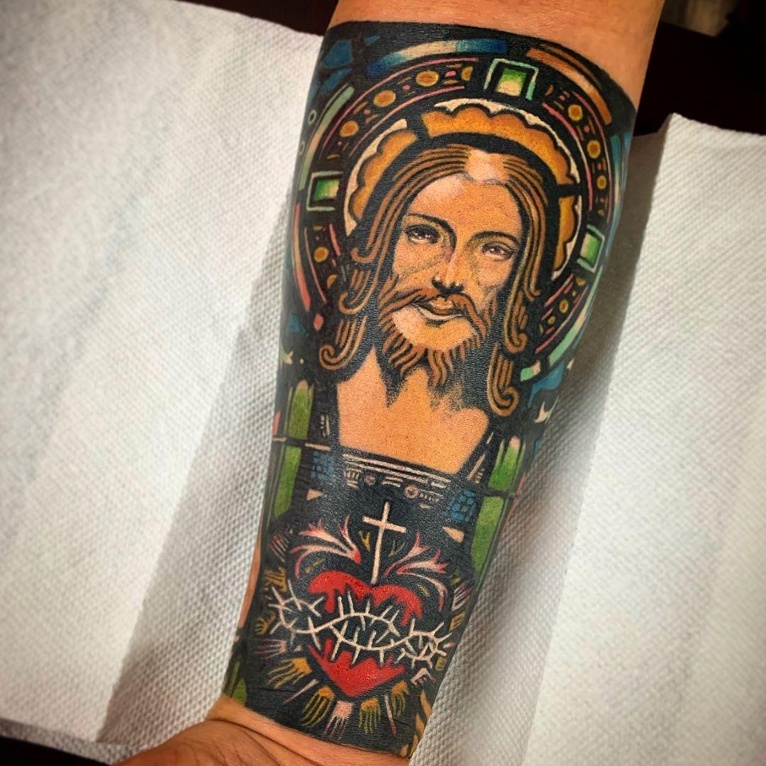 Tatuagem De Jesus Cristo 70 Inspiracoes Cheias De Fe