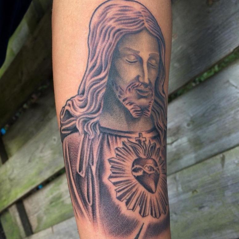 Tatuagem De Jesus Cristo 70 Inspirações Cheias De Fé