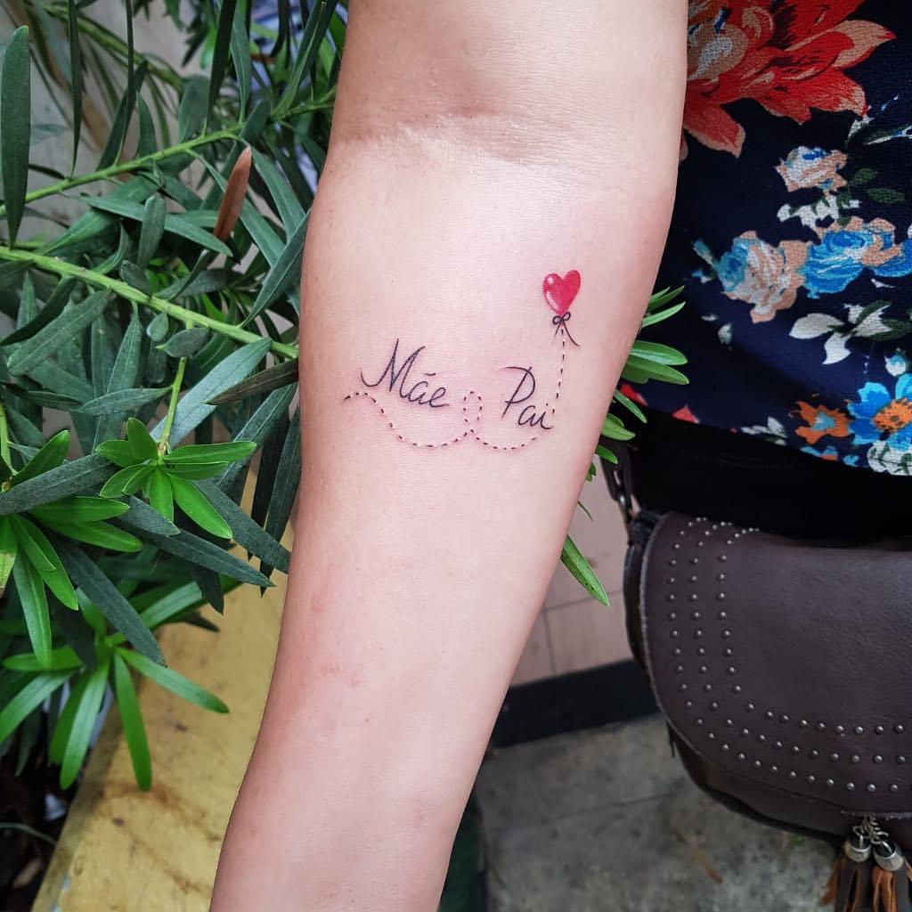 Tatuagem De Pai E Mãe 85 Opções Para Registrar Esse Amor Na