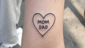 Tatuagem de pai e mãe: 85 opções para registrar esse amor na pele