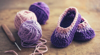 Sapatinhos de crochê: para aquecer pés e corações