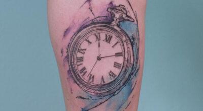 Tatuagem de relógio: significado e 50 fotos para eternizar o tempo