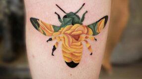 Tatuagem na canela: 80 ideias de diferentes estilos para você desenhar na pele