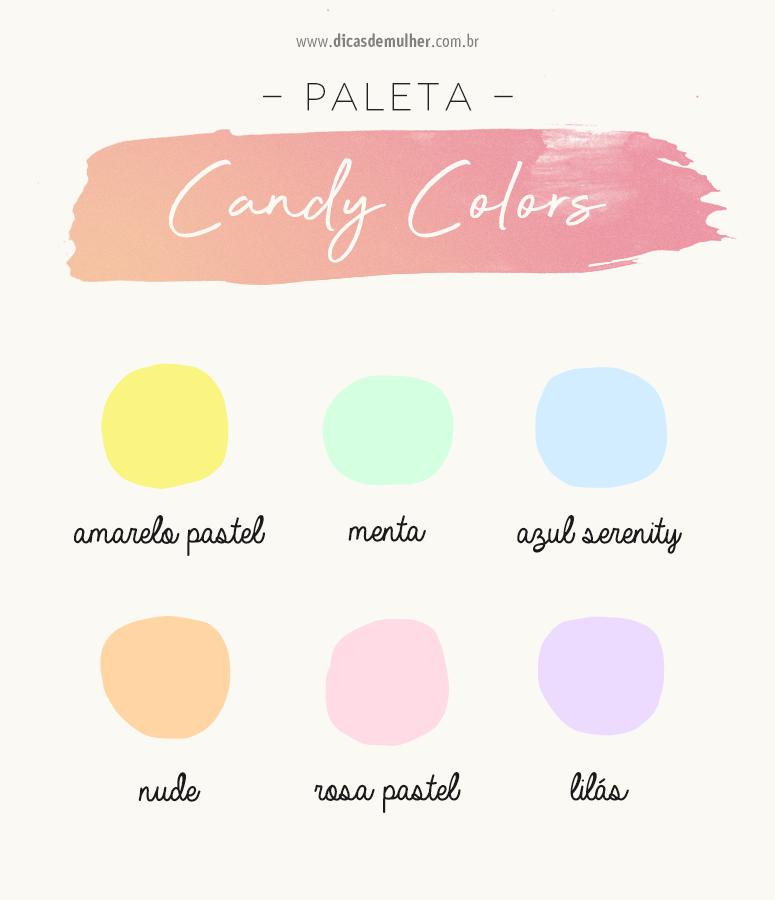 Tendência candy colors: como usar e o que são esses tons