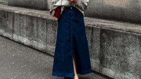 Saia jeans longa: 20 looks com essa peça que nunca sai de moda