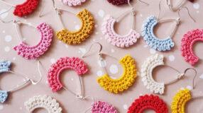 Brincos de crochê: modelos e tutoriais para enfeitar suas orelhas