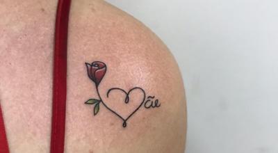 Tatuagem de coração no ombro: 50 fotos e dicas para fazer também