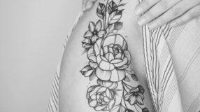 Tatuagem na virilha: 50 ideias para quem não tem medo de ousar