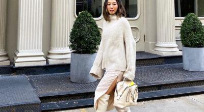 40 looks com a cor off-white que exalam elegância