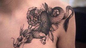 Tatuagem sombreada: 60 ideias para uma tattoo com efeitos realistas
