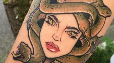 Tatuagem medusa: muitas inspirações para você encontrar a ideal