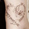 80 ideias de tatuagem de frases bíblicas para demonstrar fé e gratidão