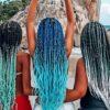 30 modelos estilosos de box braids azul para você inovar com a cor