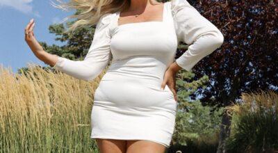 40 looks com vestido branco curto para usar a peça além do Ano Novo