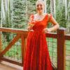 50 inspirações de vestido de formatura vermelho que você vai amar