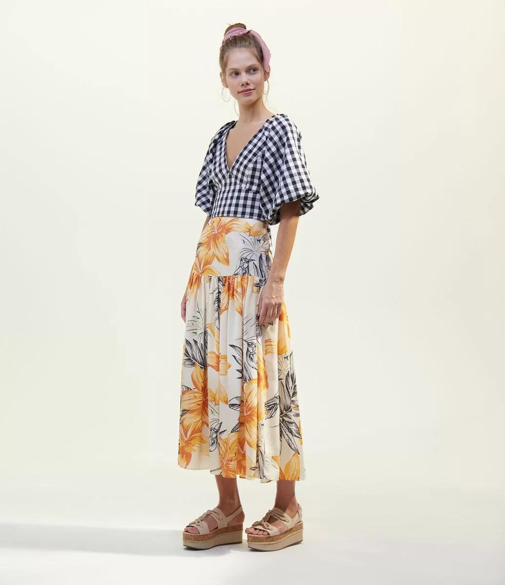 cropped xadrez 24 1 - 30 Outfits a cuadros para inspirarte y ponerte en tendencia