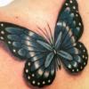 80 ideias de tatuagem de borboleta 3D para uma tattoo diferente