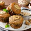 10 receitas de muffins de banana para um lanche fofinho e muito gostoso