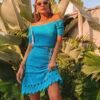 50 modelos de vestido azul claro para renovar o armário e o seu visual