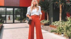 Como usar calça vermelha em 30 looks de diferentes estilos