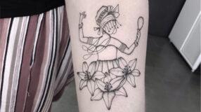 30 ideias de tatuagem de Oxum para externar sua devoção