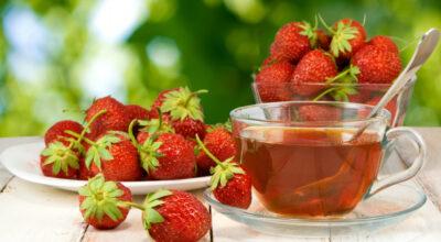 7 benefícios do chá de morango e 5 receitas para inclui-lo na alimentação