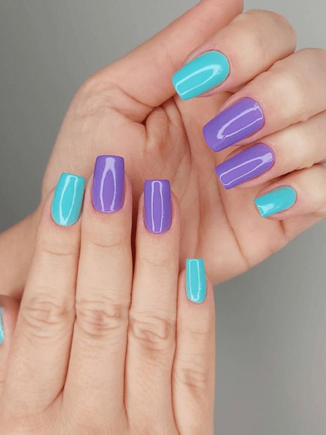 12 ideias de unhas coloridas que são sucesso