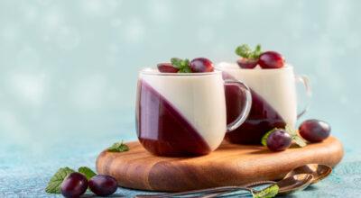 8 receitas de mousse de uva para inovar na hora da sobremesa