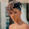 40 fotos de penteado de noiva com cabelo curto para brilhar no altar