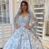 20 fotos de vestido de noiva princesa com brilho dignos de conto de fadas