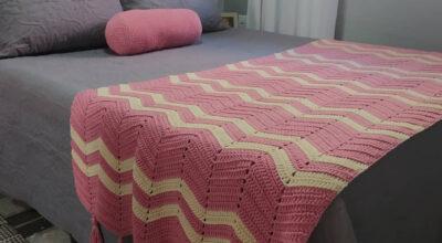 70 fotos de peseira de crochê para uma cama posta linda e aconchegante